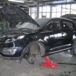 Кузовной ремонт Шевроле Спортейдж