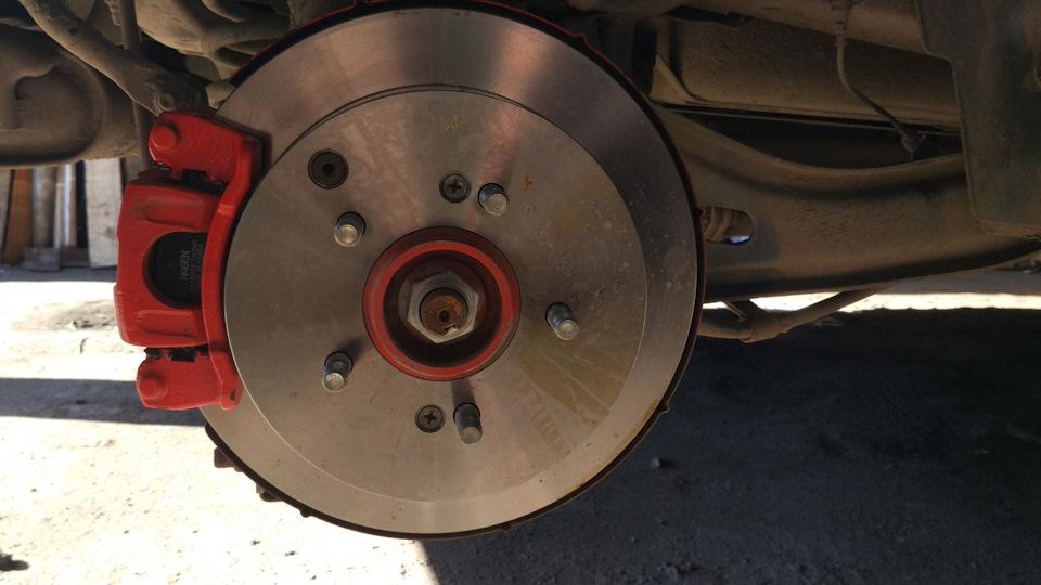 Тормозные диски Шевроле Спортейдж