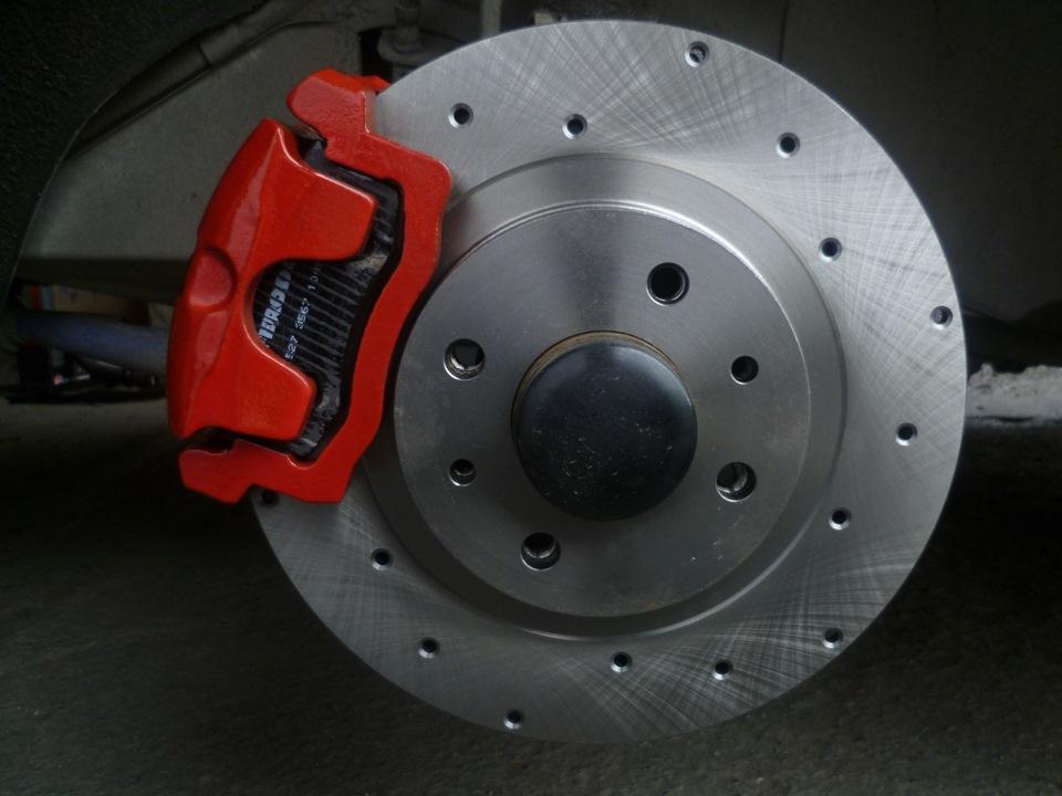 Замена тормозных дисков Шевроле