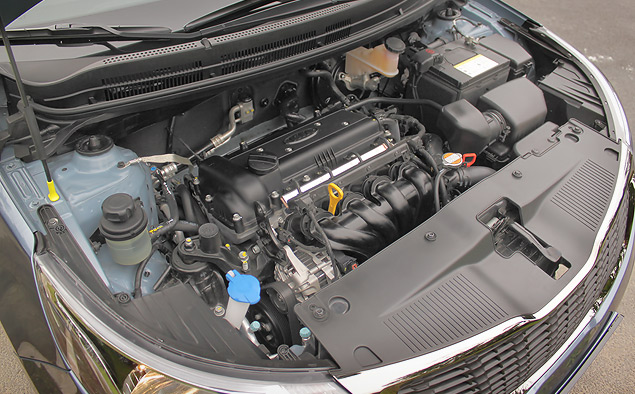Диагностика двигателя Киа Рио