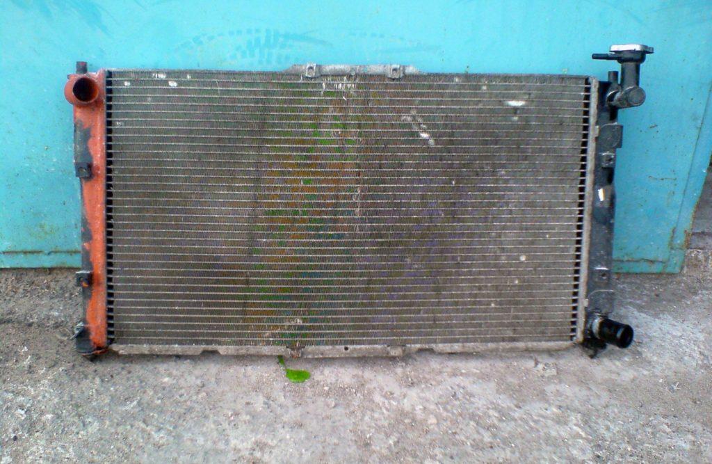Замена радиатора Киа